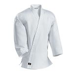 White Middleweight Traditional Karate Jacket