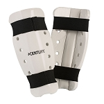White Student Sparring Shin Guards