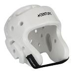 White Student Sparring Headgear