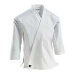 White Super Middleweight 10 oz Brushed Cotton Traditional Karate Jacket