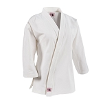 White 10 oz. Women's Extended Length Traditional Karate Jacket
