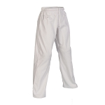 White 10 oz. Women's Karate Gi Pants Elastic Waist