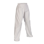 White 8 oz. Women's Elastic Waist Karate Gi Pants
