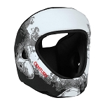 C-Gear Washable Karate Headgear - White-Black