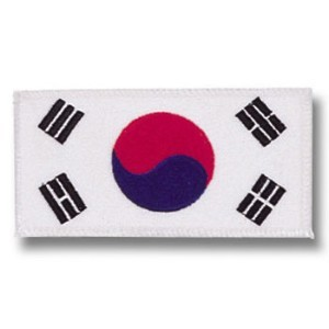 Korean Flag Patch
