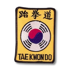 Tae Kwon Do Symbol Patch