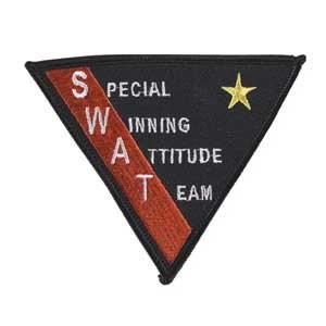 SWAT Triangle Patch