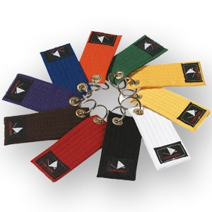 Solid Rank Belt Key chains