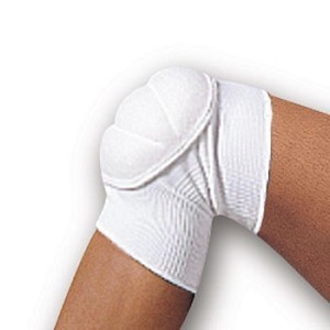 White Judo Knee Pads
