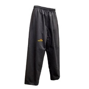 Black Elite Poly Cotton Martial Arts Pants