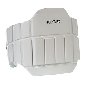 Foam Sparring Chest Protector Rib Guard - White