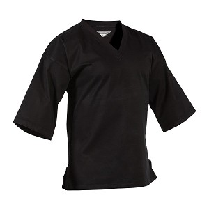 Black EasyFit Pullover Karate Uniform Top