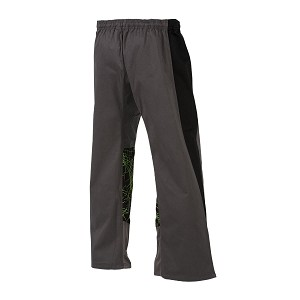 Grey with Green Electric EasyFit Uniform Pants