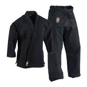 Ironman Black Heavyweight Karate Uniform