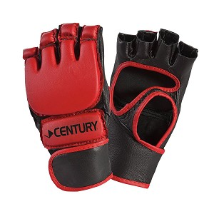 Red Open Palm Kickboxing Gloves