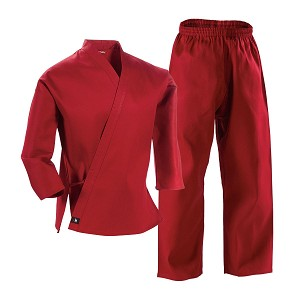 Red Student Martial Arts Uniform