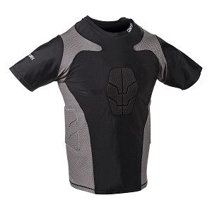Short Sleeve Padded Compression Shirt