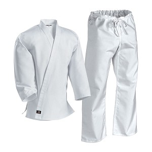 Middleweight Karate Uniform with Traditional Pant
