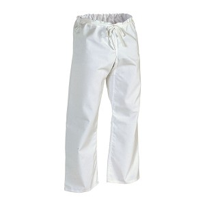 White Middleweight Traditional Karate Pants - 8oz