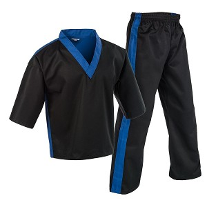 Century Team Martial Arts Uniform Black - Blue