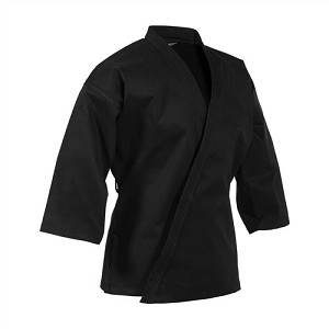Black EasyFit Traditional Martial Arts Top