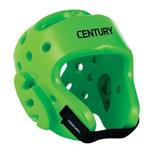Neon Green Student Sparring Headgear
