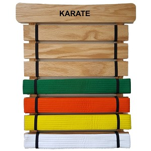 RenKata Karate Belt Display Holder
