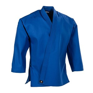 Blue Heavyweight Traditional Karate Jacket