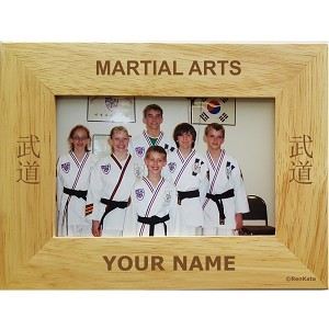 Martial Arts Picture Frame Personalized Gift