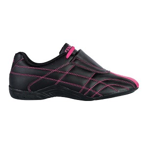 Lightfoot Black With Pink Martial Arts Shoes
