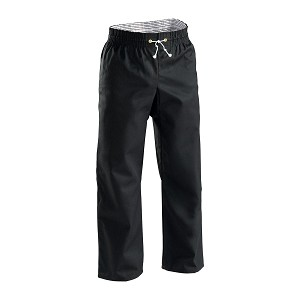 Black Middleweight Contact Karate Pants