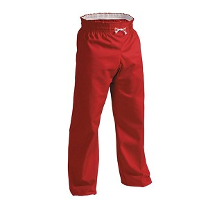 Red Middleweight Contact Karate Pants
