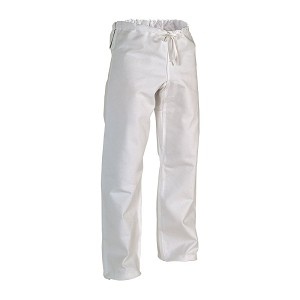 White Heavyweight Traditional Karate Pants