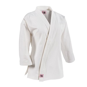 White 8 oz. Women's Traditional Martial Arts Jacket